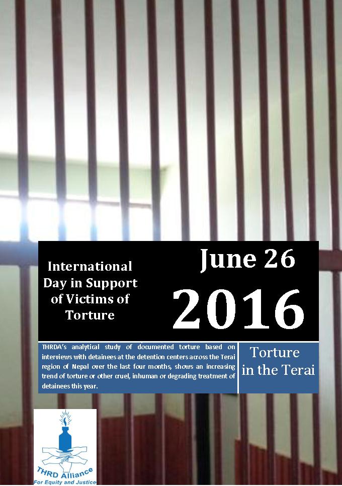 Torture Continues in Terai Region: THRDA Report