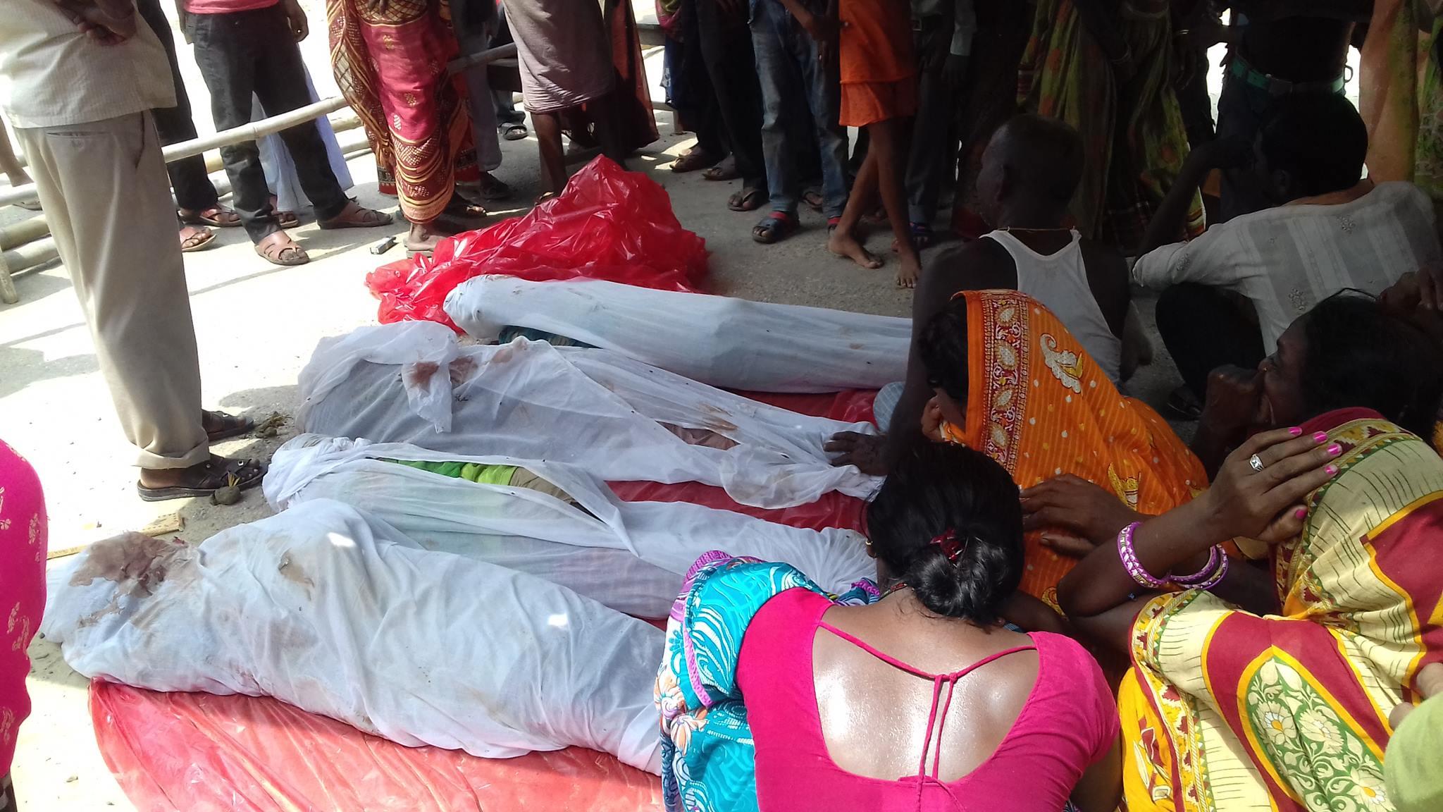 रौतहट(गरुडा न.पा) सड़क निर्माणको क्रममा खनिएको खाल्डोमा डुबेर चार बालिकाको मृत्यु