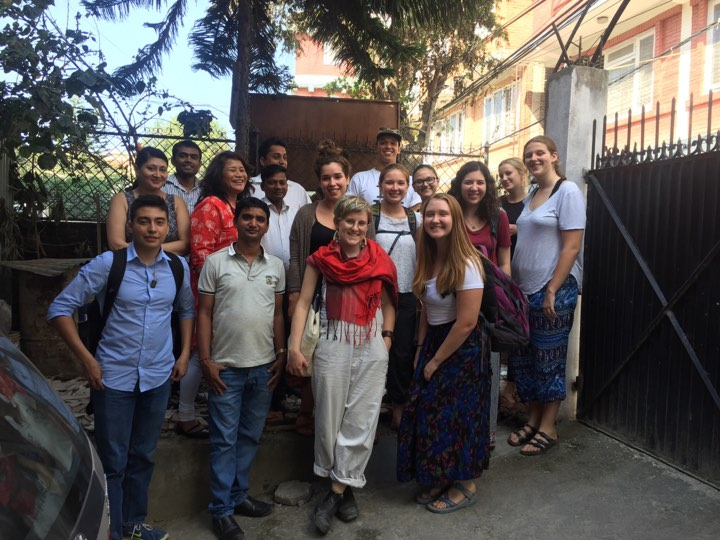 American students from esteemed universities visited THRD Alliance office in Kathmandu.